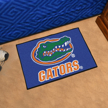 "19"" x 30"" University of Florida Gators Blue Rectangle Starter Mat"