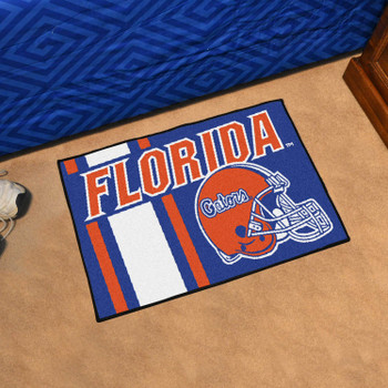 "19"" x 30"" University of Florida Uniform Blue Rectangle Starter Mat"