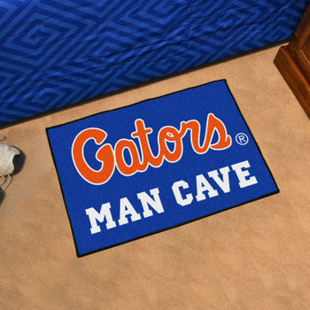 "19"" x 30"" University of Florida Blue Man Cave Starter Rectangle Mat"