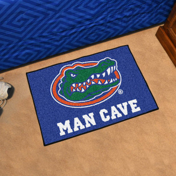 "19"" x 30"" University of Florida Gators Blue Man Cave Starter Rectangle Mat"