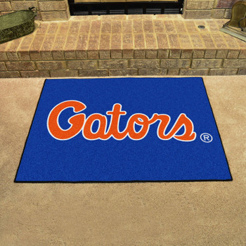 "33.75"" x 42.5"" University of Florida All Star Blue Rectangle Mat"