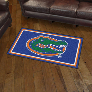 3' x 5' University of Florida Blue Rectangle Rug