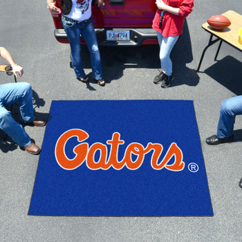 "59.5"" x 71"" University of Florida Blue Tailgater Mat"