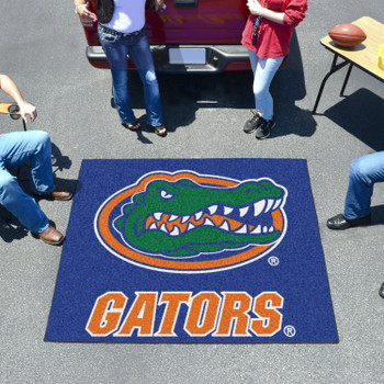 "59.5"" x 71"" University of Florida Gators Blue Tailgater Mat"