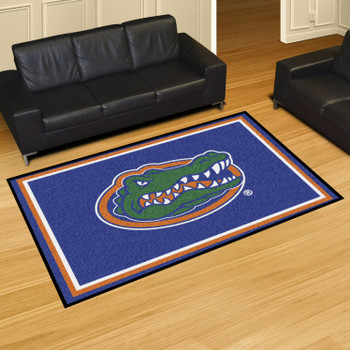 5' x 8' University of Florida Gators Blue Rectangle Rug