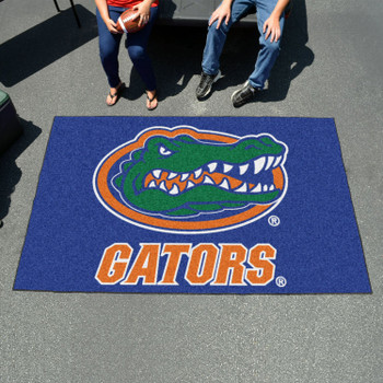 "59.5"" x 94.5"" University of Florida Gators Blue Rectangle Ulti Mat"