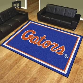 8' x 10' University of Florida Blue Rectangle Rug