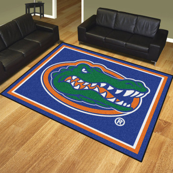 8' x 10' University of Florida Gators Blue Rectangle Rug