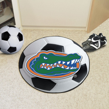 "27"" University of Florida Soccer Ball Round Mat"