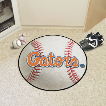 "27"" University of Florida Baseball Style Round Mat"