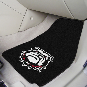 University of Georgia Carpet Car Mat, Set of 2