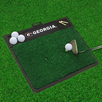 "20"" x 17"" University of Georgia Golf Hitting Mat"