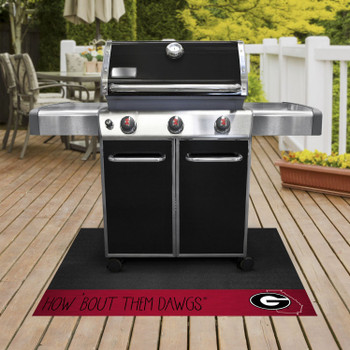 University of Georgia Southern Style Grill Mat