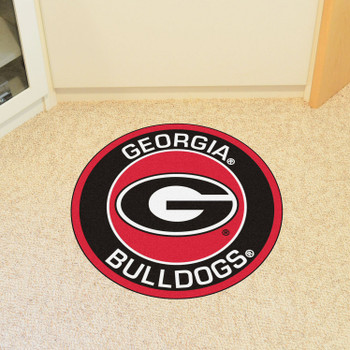 "27"" University of Georgia Roundel Round Mat"