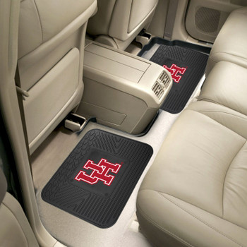 University of Houston Heavy Duty Vinyl Car Utility Mats, Set of 2