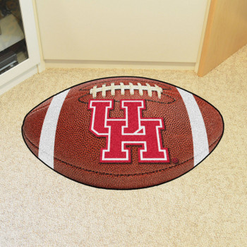 "20.5"" x 32.5"" University of Houston Football Shape Mat"