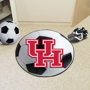 "27"" University of Houston Soccer Ball Round Mat"