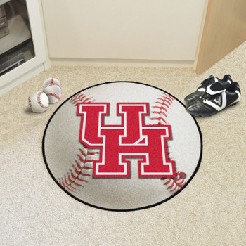 "27"" University of Houston Baseball Style Round Mat"