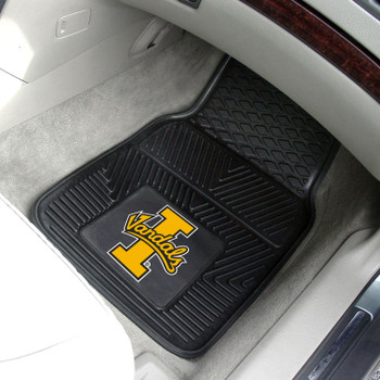 University of Idaho Heavy Duty Vinyl Front Black Car Mat, Set of 2