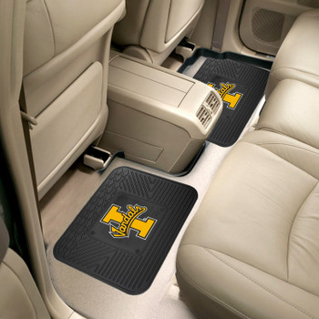 University of Idaho Heavy Duty Vinyl Car Utility Mats, Set of 2