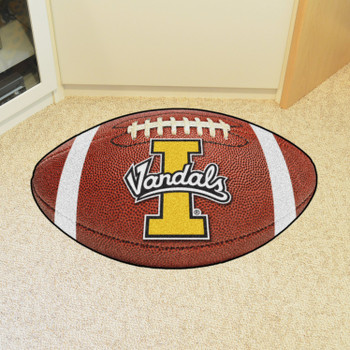 "20.5"" x 32.5"" University of Idaho Football Shape Mat"