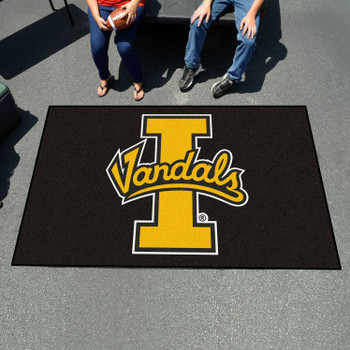 "59.5"" x 94.5"" University of Idaho Black Rectangle Ulti Mat"