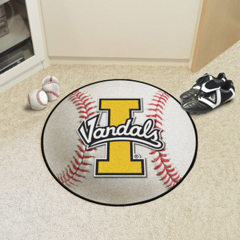 "27"" University of Idaho Baseball Style Round Mat"