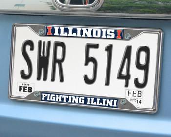 University of Illinois License Plate Frame