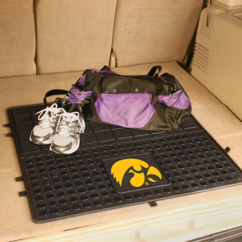 "31"" University of Iowa Heavy Duty Vinyl Cargo Trunk Mat"