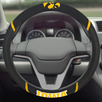 University of Iowa Steering Wheel Cover