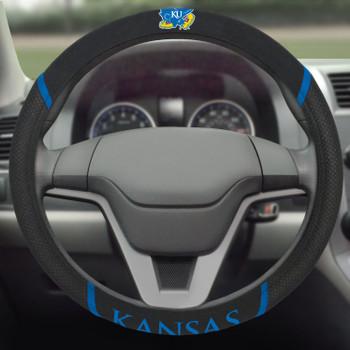 University of Kansas Steering Wheel Cover