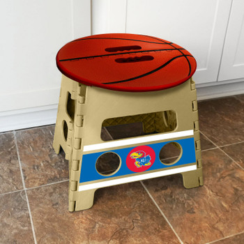 University of Kansas Folding Step Stool