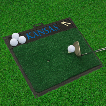 "20"" x 17"" University of Kansas Golf Hitting Mat"