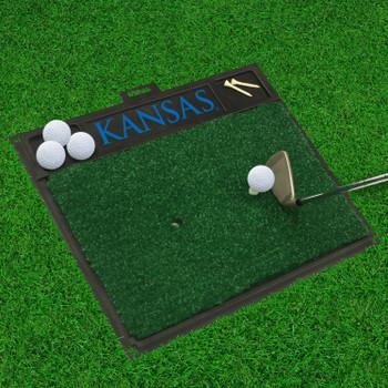 "20"" x 17"" University of Kansas Golf Hitting Mat"