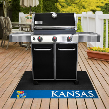 "26"" x 42"" University of Kansas Grill Mat"