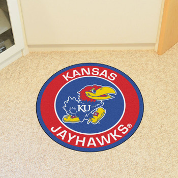 "27"" University of Kansas Roundel Round Mat"
