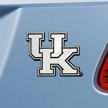 University of Kentucky Chrome Emblem, Set of 2
