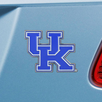 University of Kentucky Blue Color Emblem, Set of 2