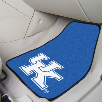 University of Kentucky Carpet Car Mat, Set of 2