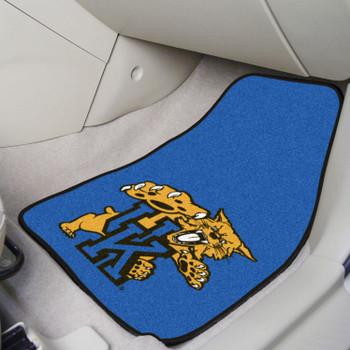 University of Kentucky Blue Carpet Car Mat, Set of 2
