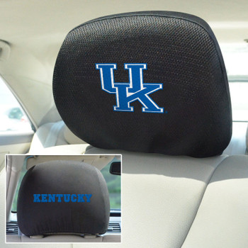 University of Kentucky Car Headrest Cover, Set of 2