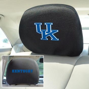University of Kentucky Car Headrest Cover, Set of 2