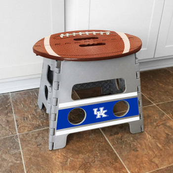 University of Kentucky Gray Folding Step Stool