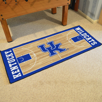 "30"" x 72"" University of Kentucky NCAA Basketball Rectangle Runner Mat"
