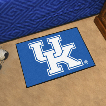 "19"" x 30"" University of Kentucky Blue Rectangle Starter Mat"