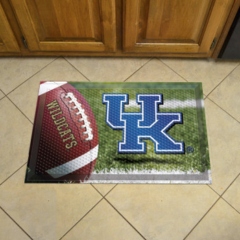 "19"" x 30"" University of Kentucky Rectangle Scraper Mat - ""UK"" Logo"