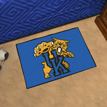 "19"" x 30"" University of Kentucky Wildcats Blue Rectangle Starter Mat"