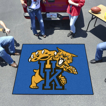 "59.5"" x 71"" University of Kentucky Wildcats Blue Tailgater Mat"