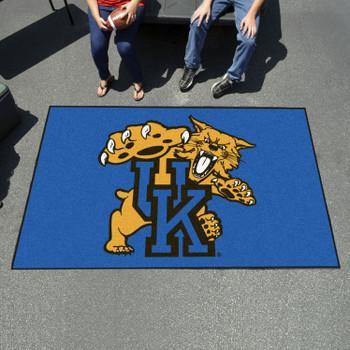 "59.5"" x 94.5"" University of Kentucky Wildcats Blue Rectangle Ulti Mat"