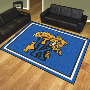 8' x 10' University of Kentucky Blue Rectangle Rug
